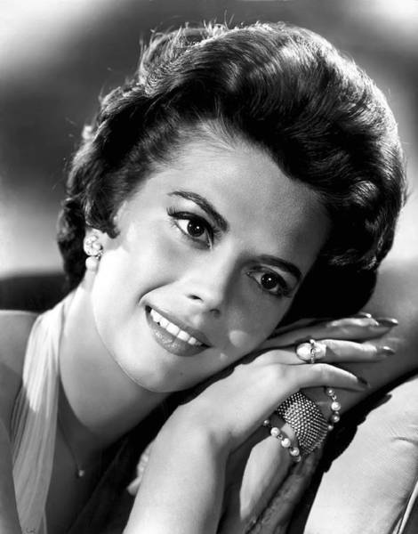 Leading Actress Wall Art - Photograph - Natalie Wood by Daniel Hagerman