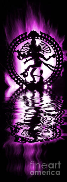 Dancing Water Photograph - Nataraja The Lord Of Dance by Tim Gainey