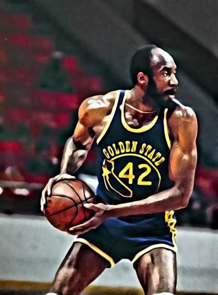 Wall Art - Painting - Nate Thurmond by Florian Rodarte