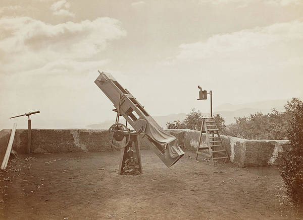 Nathaniel Photograph - Nathaniel Green's 13 Inch Telescope by Royal Astronomical Society/science Photo Library