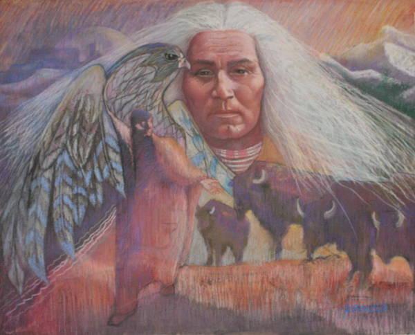 Nation Of Peace Art Print by Pamela Mccabe