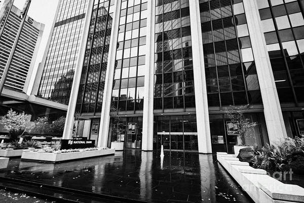 Financial Centre Photograph - national bank two bentall centre financial district downtown Vancouver BC Canada by Joe Fox