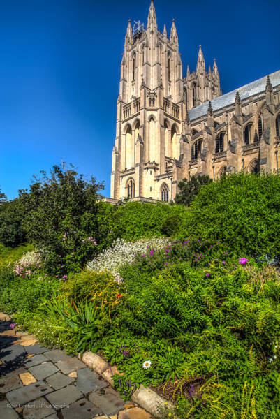 Photograph - National Cathedral Garden by Ross Henton