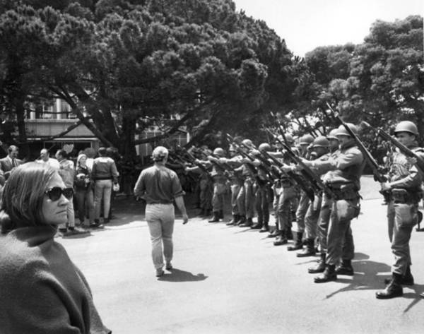 National Guard Photograph - National Guard On Uc Campus by Underwood Archives Thornton