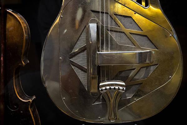 Photograph - National Guitar by Glenn DiPaola