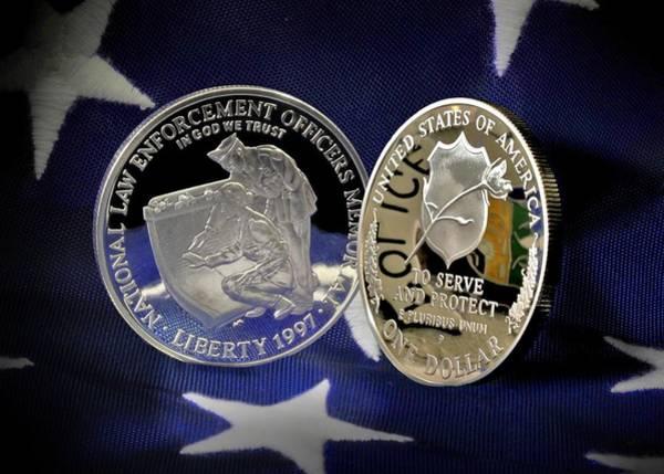 Law Enforcement Photograph - National Law Enforcement Memorial Mint by Gary Yost