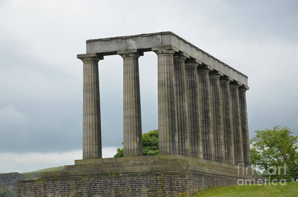 Photograph - National Monument Of Scotland by Scott D Welch