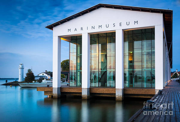 Sverige Photograph - National Naval Museum by Inge Johnsson