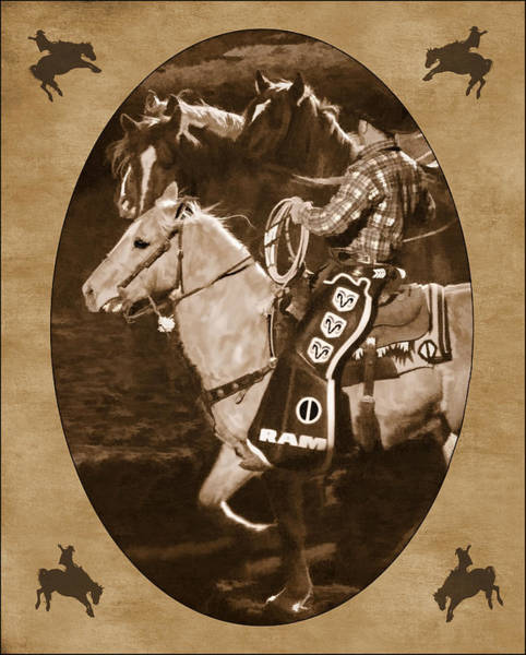 Prca Wall Art - Photograph - National Western Stock Show by Priscilla Burgers