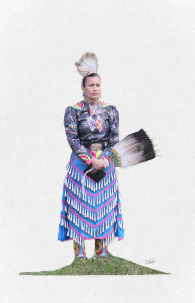 Painting - Native American 6477 by Dean Wittle