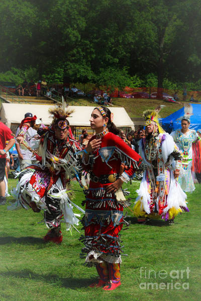 Photograph - Native American Dancers by Eleanor Abramson