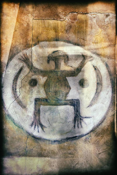 Photograph - Native American Frog Pictograph by Jo Ann Tomaselli