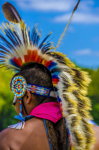 Photograph - Native American Indian 2 by Julie Palencia