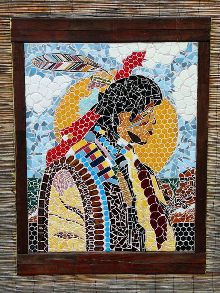 Photograph - Native American Mosaic by Jeff Lowe
