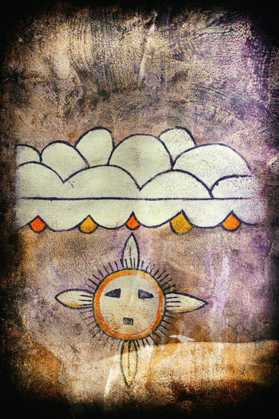 Photograph - Native American Natural Elements Pictograph by Jo Ann Tomaselli