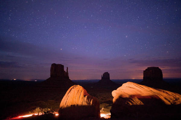 The Mitten Photograph - Native American Parks by Kevin Moloney