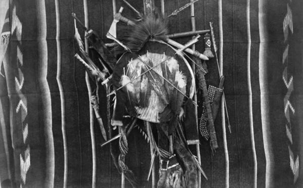 Wall Art - Photograph - Native American Shield by Granger