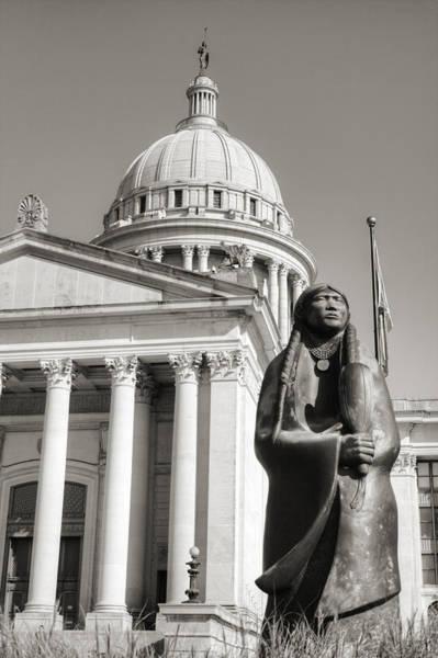 Capitol Building Photograph - Native Capitol by Ricky Barnard