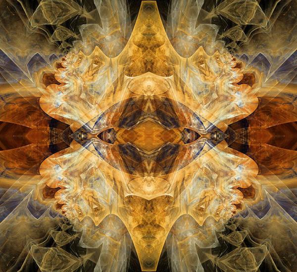 Algorithm Digital Art - Native Charm - Abstract by Georgiana Romanovna