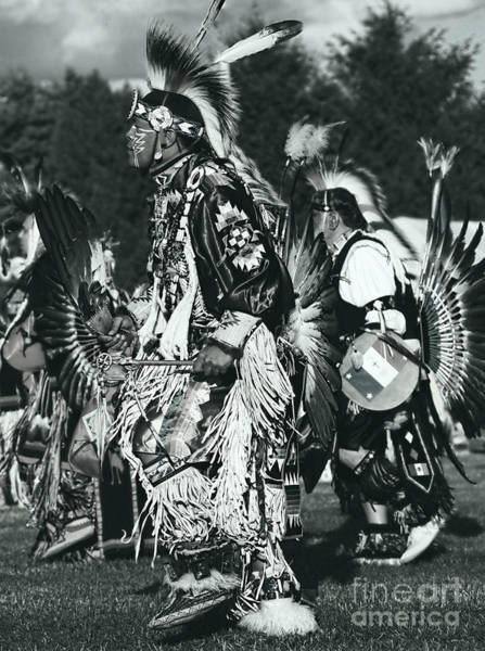 Wall Art - Photograph - Native Dancer In Silver Screen by Scarlett Images Photography