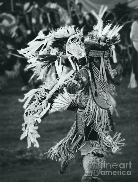 Wall Art - Photograph - Native Youth Dancer by Scarlett Images Photography