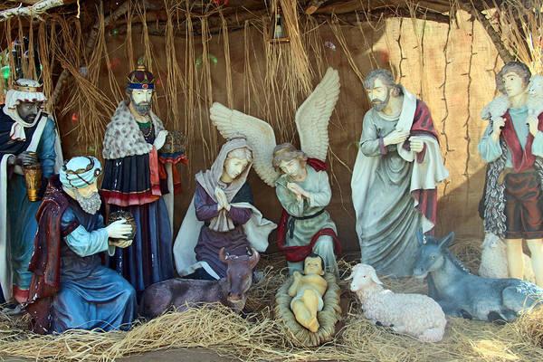 Manger Photograph - Nativity At Manger Square by Munir Alawi
