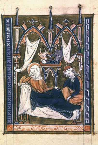 Painting - Nativity, Flemish, C1275 by Granger