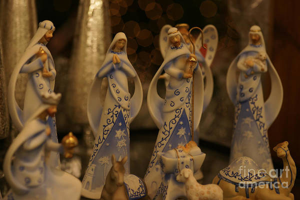 Photograph - Nativity by Linda Shafer