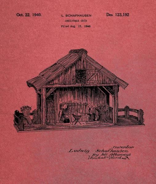 Photograph - Nativity Scene Patent by Dan Sproul