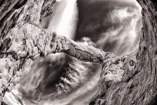 Wall Art - Photograph - Natural Arch Above Me by Juan Carlos Diaz Parra