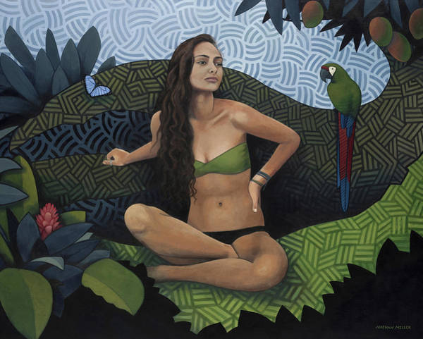 Wall Art - Painting - Natural Beauty by Nathan Miller