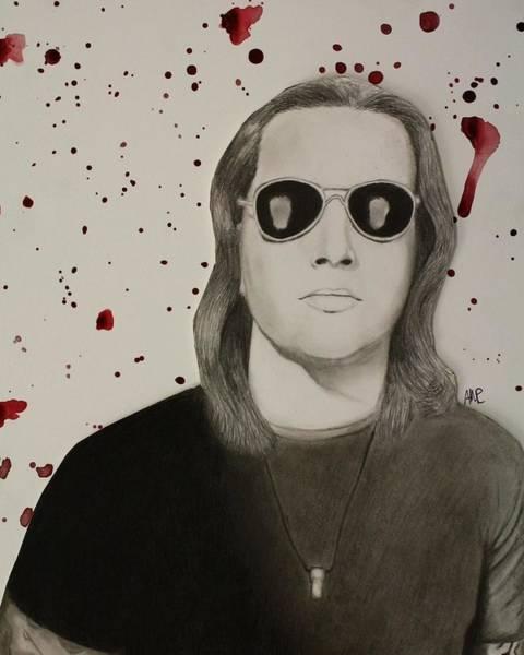 Frontman Wall Art - Drawing - Natural Born Killer by Alexis Mariah
