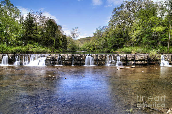 Dam Photograph - Natural Dam Falls by Twenty Two North Photography