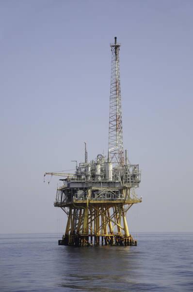 Photograph - Natural Gas Platform by Bradford Martin