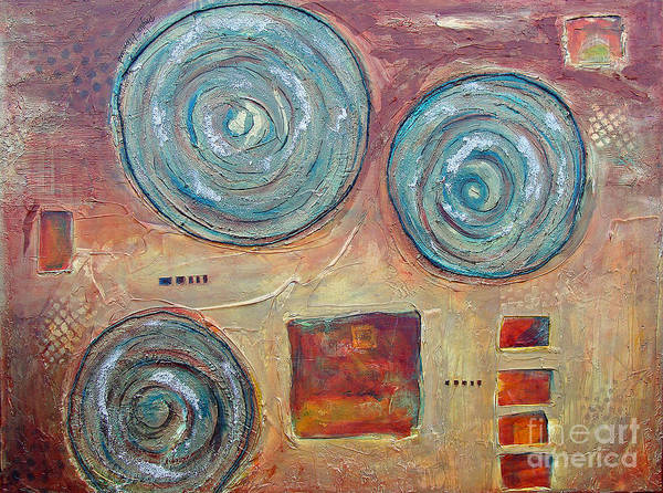 Painting - Natural Geometry by Phyllis Howard