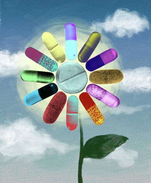 Allopathy Wall Art - Photograph - Natural Medicines by Fanatic Studio / Science Photo Library