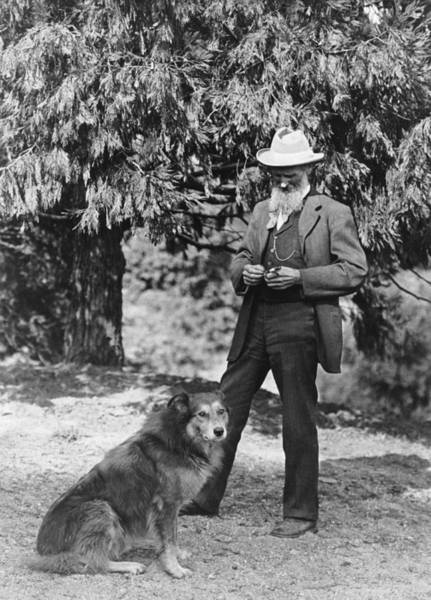 1900 Photograph - Naturalist John Muir by Underwood Archives