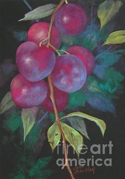 Painting - Naturally Plums by Julia Blackler