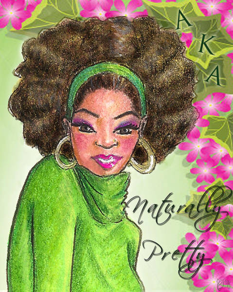 Pretty In Pink Mixed Media - Naturally Pretty by BFly Designs
