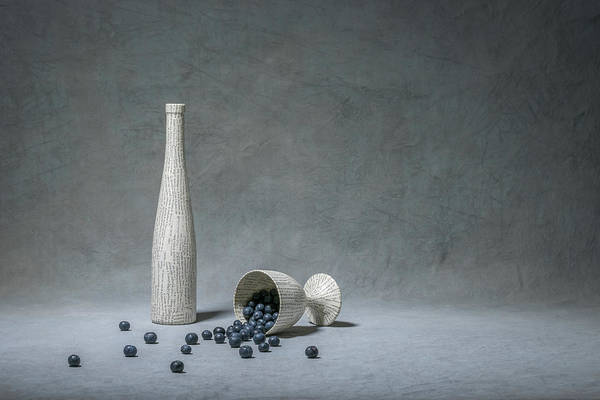 Bottles Photograph - Nature & Culture by Christophe Verot