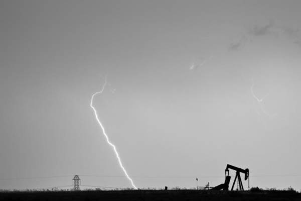 Photograph - Nature - Power And Oil In Black And White by James BO Insogna