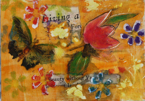 Mixed Media - Nature 14 by Dawn Boswell Burke