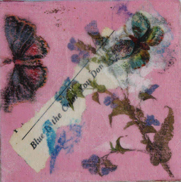 Mixed Media - Nature 16 by Dawn Boswell Burke