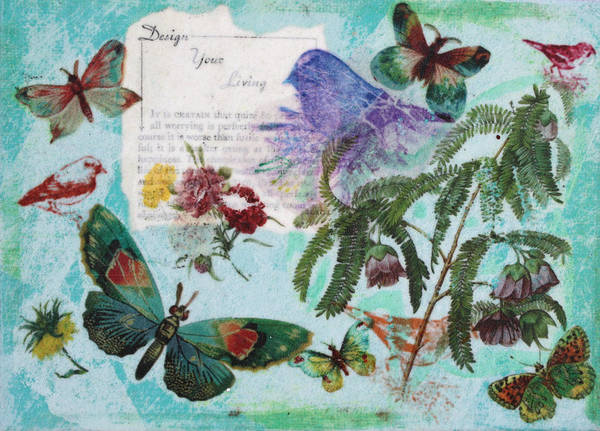 Mixed Media - Nature 4 by Dawn Boswell Burke