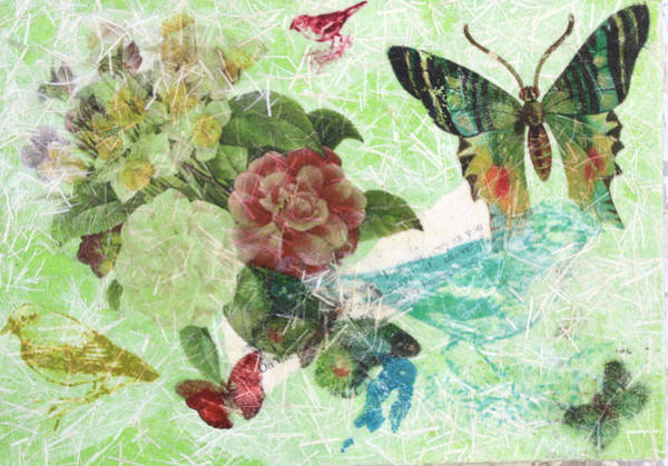 Mixed Media - Nature 6 by Dawn Boswell Burke