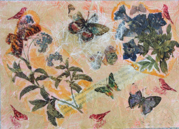 Mixed Media - Nature 8 by Dawn Boswell Burke