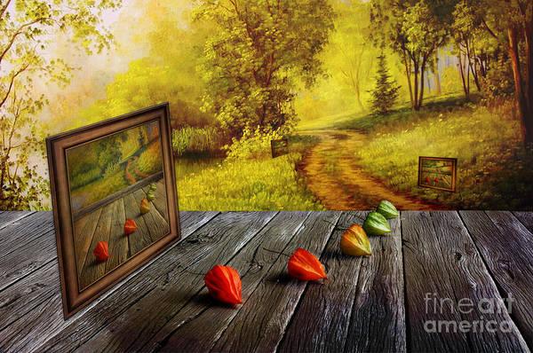 Autumn Colors Digital Art - Nature Exhibition by Veikko Suikkanen