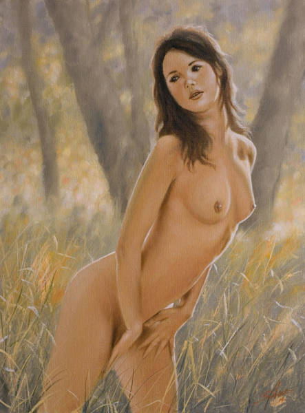 Painting - Nature Girl II by John Silver