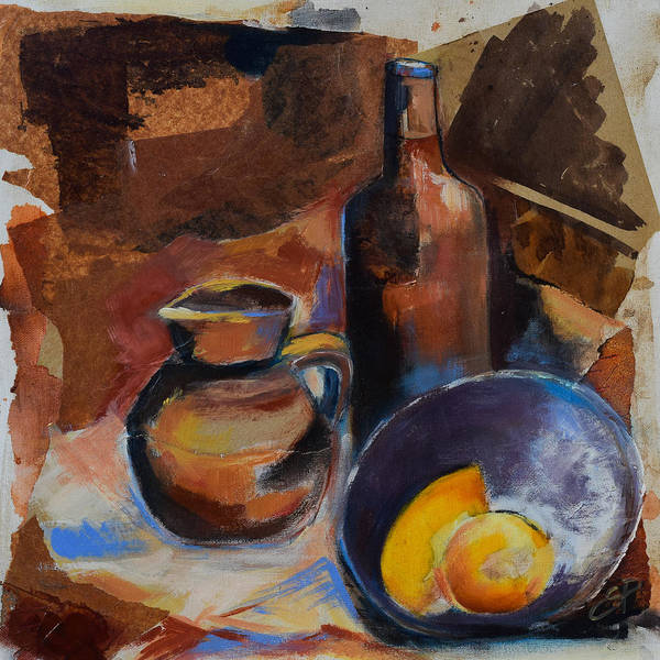 Painting - Still Life Sepia by Elise Palmigiani