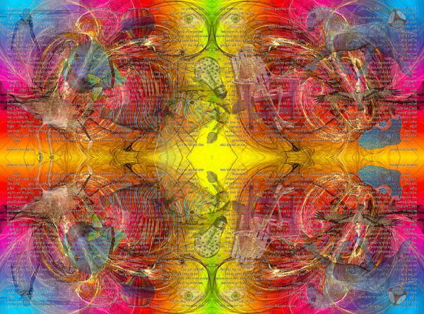 Reflective Digital Art - Nature Of Awareness by Betsy Knapp